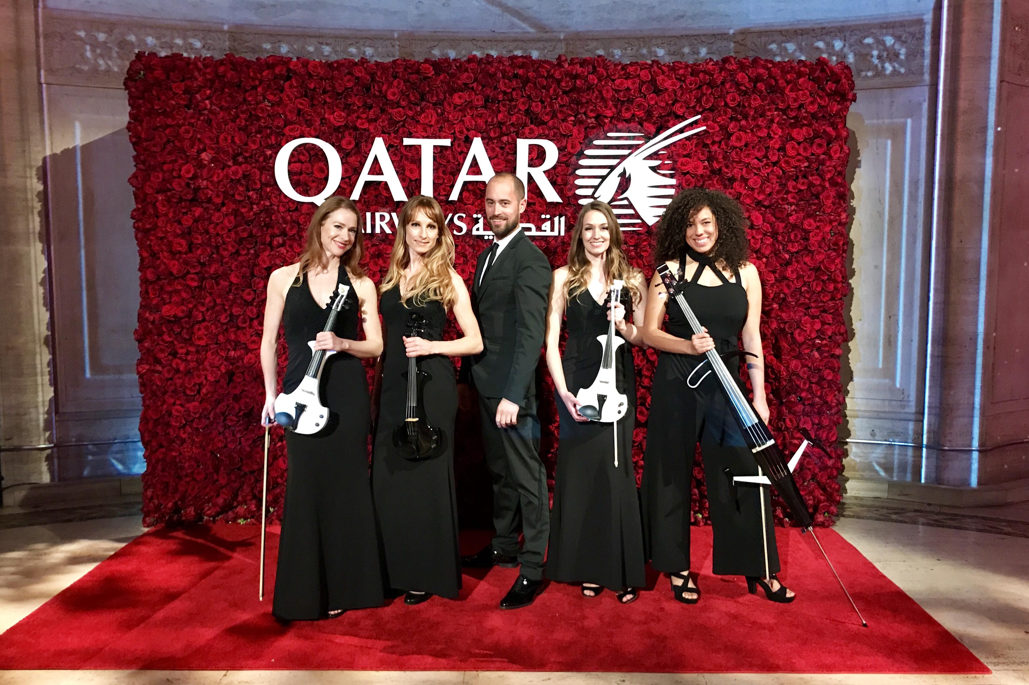 electric string quartet cipriani