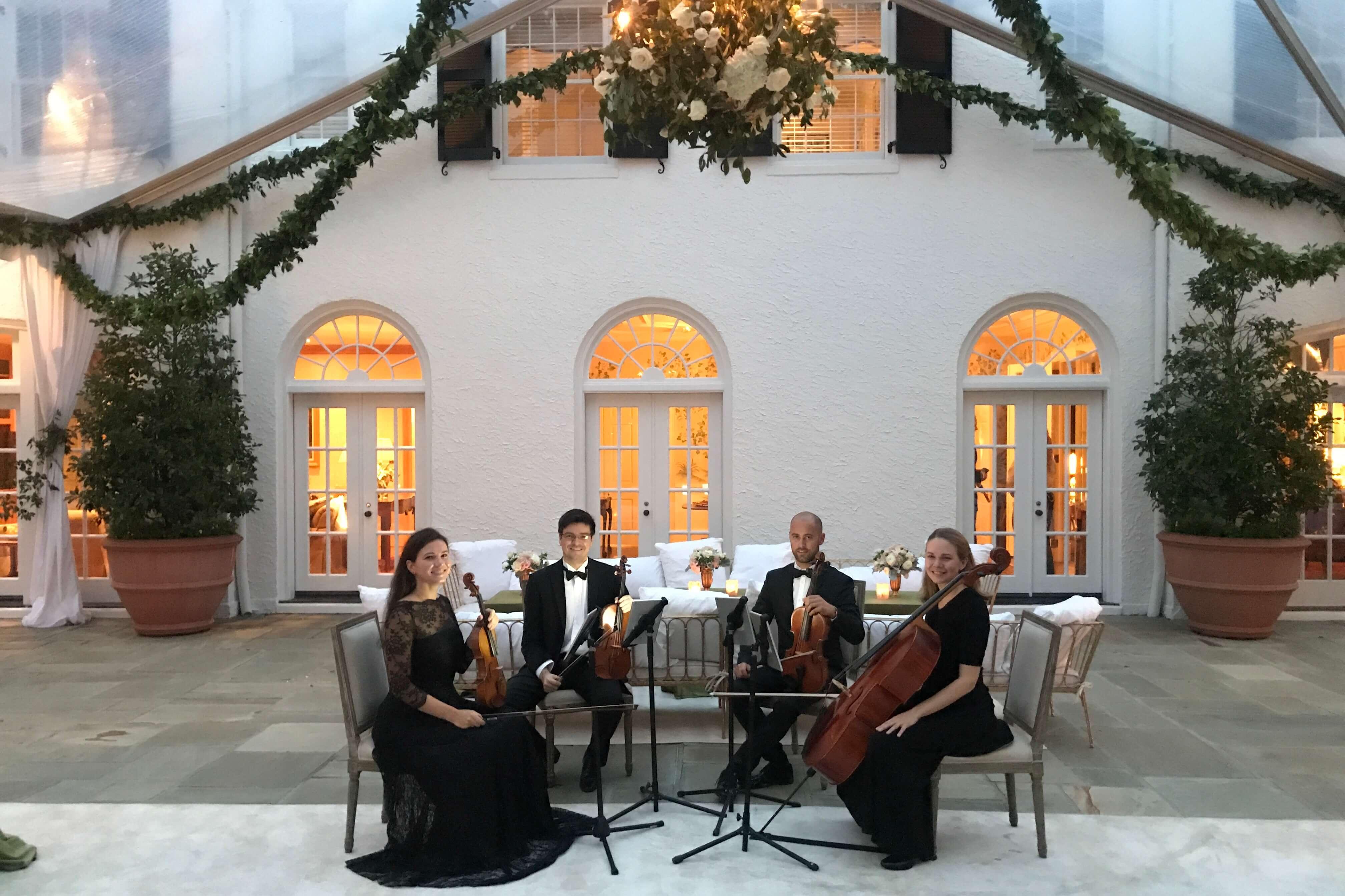 wedding string quartet in augusta, ga