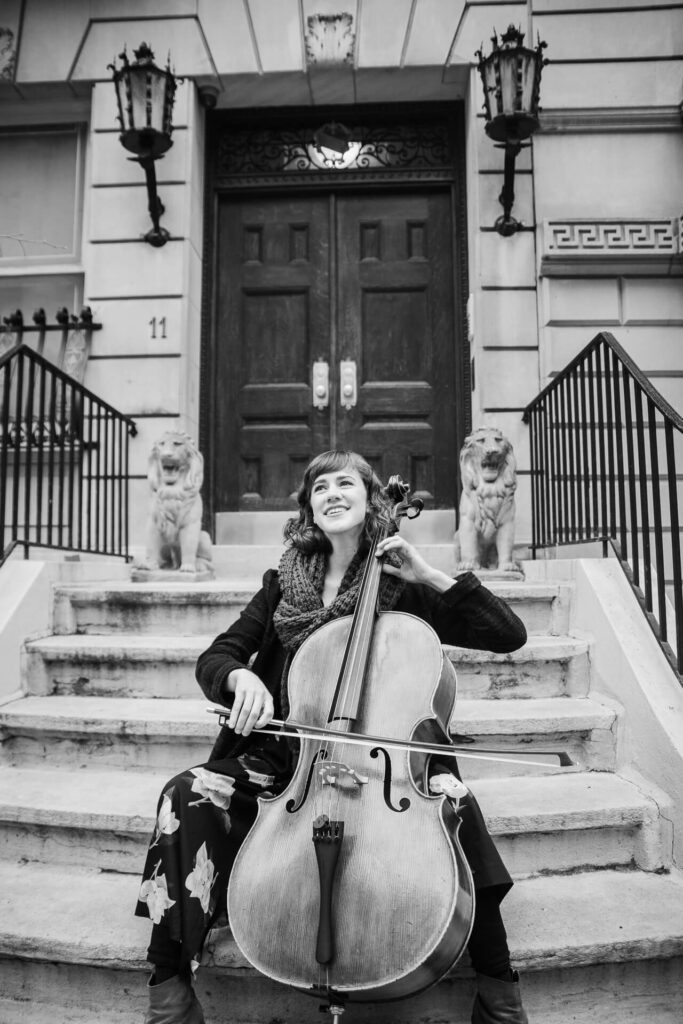 new york cello player