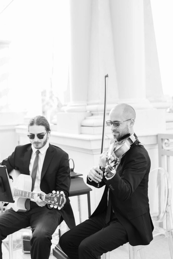 Violin & Guitar Duo - wedding ceremony musicians in New York City