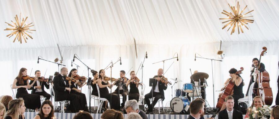 Wedding at Gurney's Resort Montauk - wedding orchestra