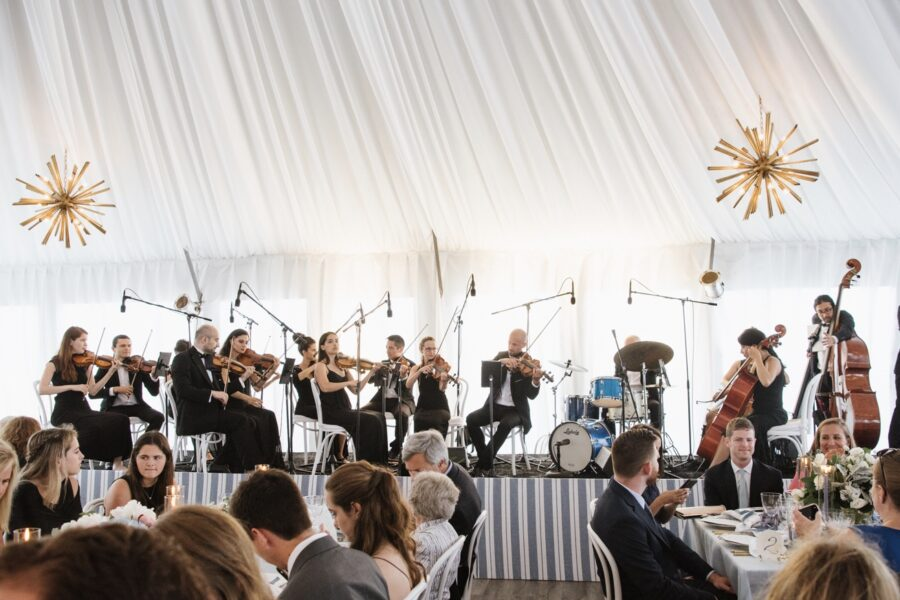Wedding at Gurney's Resort Montauk - wedding orchestra