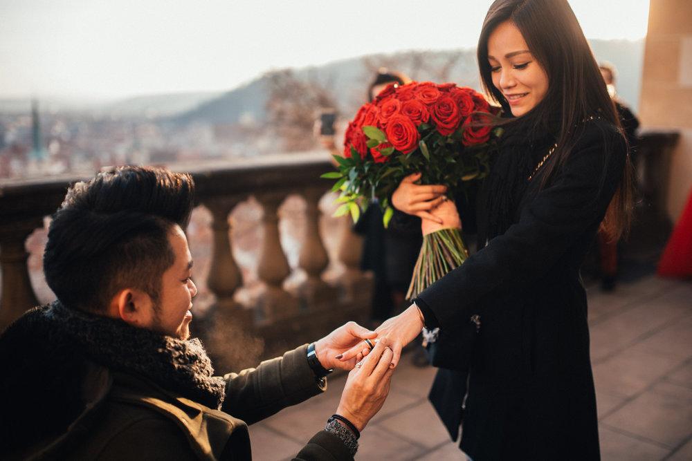 Marriage Proposals at Prague Castle