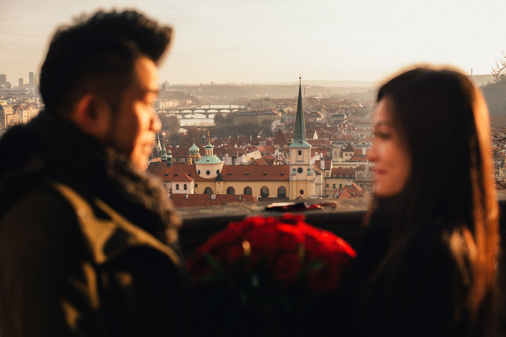 Wedding Proposals at Lobkowicz Palace in Prague