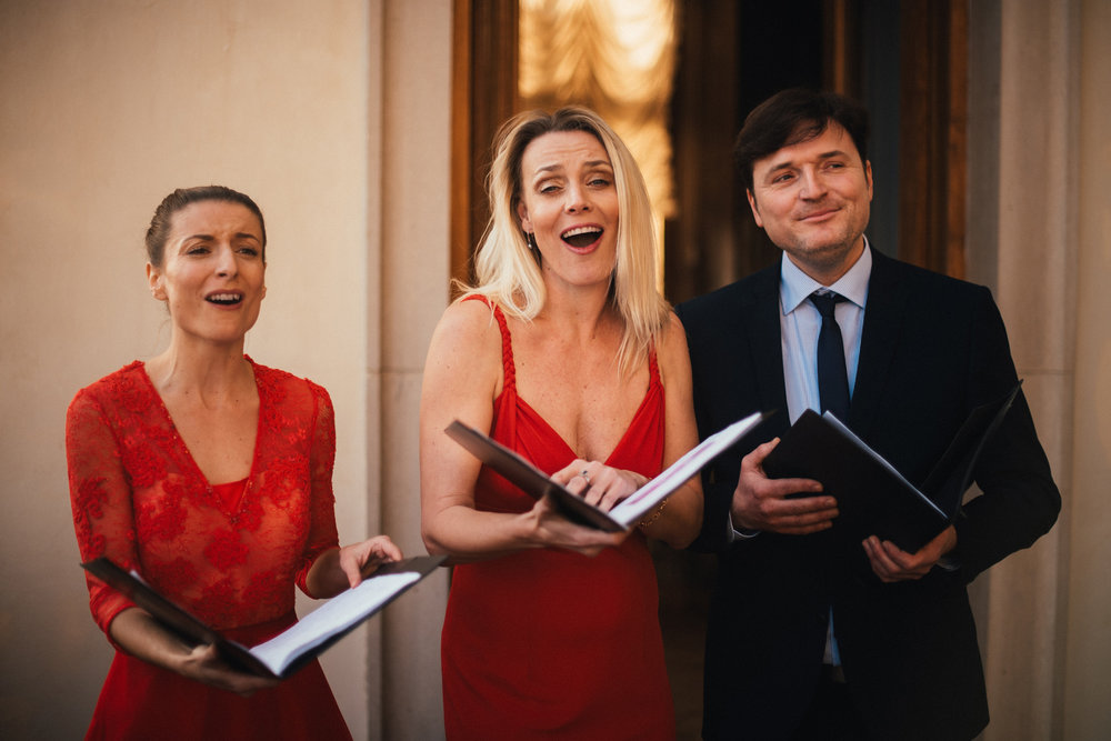 Wedding Singers - Proposals at Palace Lobkowicz in Prague