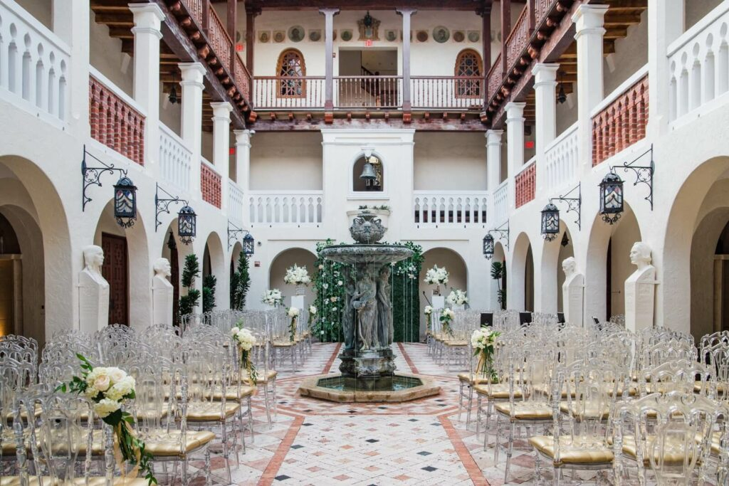 Wedding Ceremony @Versace Mansion