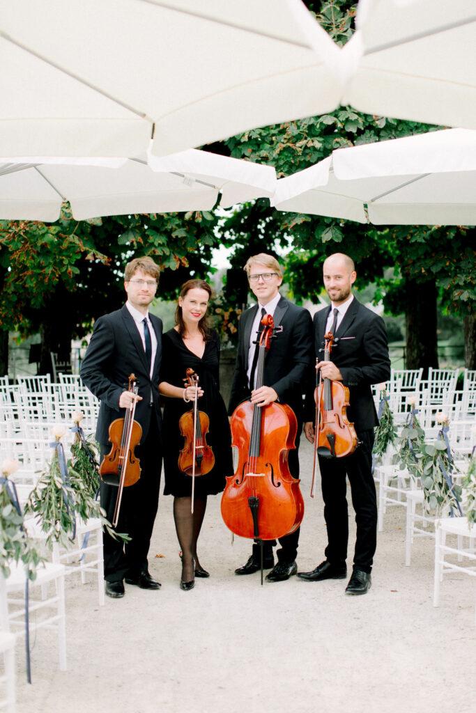 Hochzeit Streich Quartett Schloss Waldegg