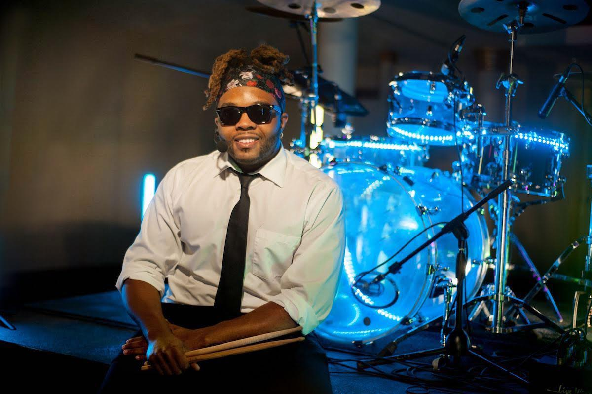 Singing Drummer Quentin Ravenel | Kiral Artists